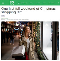 One last full weekend of Christmas shopping left